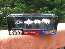 Hot Wheels Star Wars Hero Starship 4-Pack Set~Die Cast~New & Sealed!