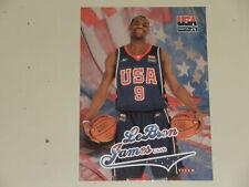2004 Skybox Fleer USA LeBron James Team USA King James