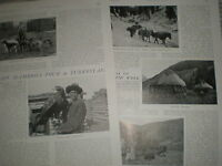 Photo article Captain Hambro tour of Turkestan 1904 ref Y3