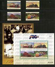 Thailand 1997  #1712-5A   trains railroads locomotives set & sheets  MNH  L836