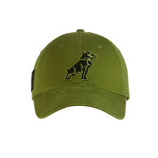 Mack Trucks Military Green USA Embroidered Cap Bulldog Dog Logo Hat