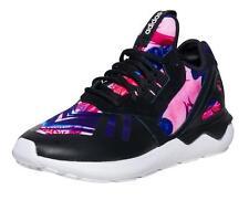 ADIDAS Originals Tubular runner womens running trainers pink black floral S81269