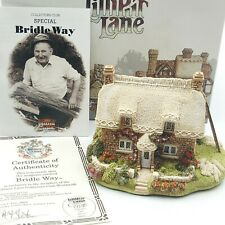 """1990 Lilliput Lane Collector """"Bridle Way"""" 4.5""""x 4"""" New Retired Stock"""