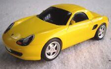 Scalextric Slot Car Racing 1-32 Escala: Porsche Boxster Amarillo C2608, v.g.c.
