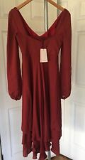 Women's Cinq a Sept DressNWT$695 In Pomegranate Size 2