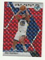 2019-20 Panini Mosaic Prizm RED HOBBY Rookie RC Eric Paschall Warriors NBA Debut