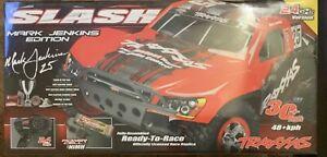 TRAXXAS  Mark Jenkins Slash Edition Fully Assembled Ready to Race