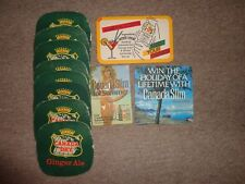 Beer drinks mats drip mats coaster CANADA SLIM DRY rawlings collection