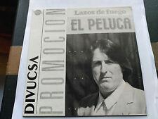 EP PROMO EL PELUCA - LAZOS DE FUEGO - PERFIL SPAIN 1989 VG+