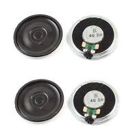 3W 4 Ohm Metal Housing Round Internal Magnet Speaker Loudspeaker 4Pcs P7S4 L2M8