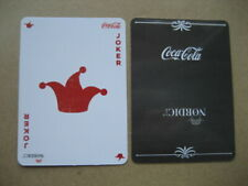 Joker N 115. Coca-Cola Nordic. Single Playing Card