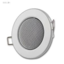 Mini Haut-Parleurs Plafond,comme Spot Encastré Blanc,Encastré: 60mm,Haut-Parleur