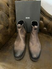 Hugo Boss Boots, Stiefel, braun, 10/44, NEU
