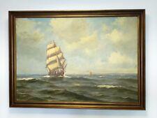 Ölgemälde - oil on canvas - Marine - signiert Steen Bille - Ölbild