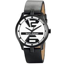 Bruno Banani Neos Men's Watch B83906301 Analogue Leather Black