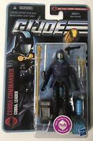 "GI Joe 25th Cobra Commander Resolute red boxed set 1113 4/"""