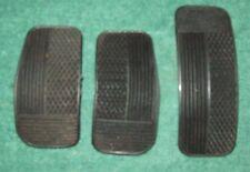 Fiat 131S / CL, SuperMirafiori, brake clutch & accelerator pedal pads (set of 3)