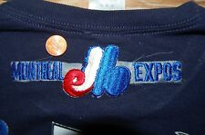 "Montreal Expos 5 3/4"" Patch 1969-2004 Alternate Logo & Script Baseball"