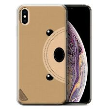 Cousu des Animaux Effet Coque Gel pour iPhone XS Max/Ours