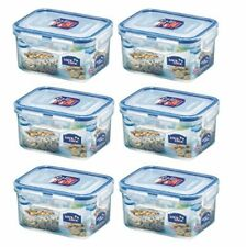 6 X Lock and Lock Small Plastic Food Container 470ml  HPL807