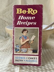 Vintage ~ Be-Ro Home Recipe Book ~ Scones, Cakes, Pastry, Puddings - c1960 - AF
