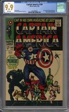 Captain America #100 CGC 9.9 (W) HIGHEST GRADED COPY IN EXISTENCE