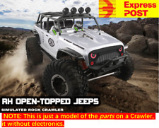 AU Store Remo hobby 1/10 4WD Rock Crawler OPEN-TOPPED JEEPS Chassis Kit Versions