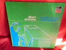 ALBERT AMMONS Boogie Woogie Piano Stylings JAZZ LP 1976 ITALY MINT