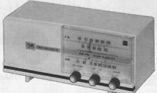 1962 DELMONICO 88 RADIO SERVICE MANUAL SCHEMATIC PHOTOFACT AM FM REPAIR DIAGRAM
