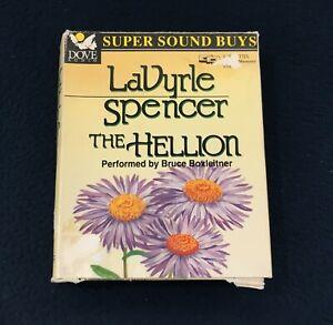 THE HELLION /  LAVYRLE SPENCER / AUDIO BOOK / BRUCE BOXLEITNER / 2 CASSETTES