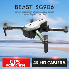 SG906 5G WIFI FPV GPS 4K HD Brushless Selfie Foldable RC Drone Quadcopter P6C6