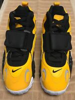 Nike Air Max Speed Turf Yellow Gold White Black BV1165-700 Men's Shoe Size 10
