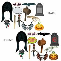 ELVIRA PHOTO BOOTH SIGNS HALLOWEEN PARTY DECORATIONS MISTRESS OF THE DARK