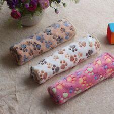 Soft Warm Lovely Design Paw Print Pet Blanket Dog Cat Piggy Mat Puppy Bed Sofa