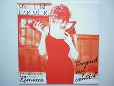 Mylene Farmer Maxi 33Tours vinyle Beyond My Control