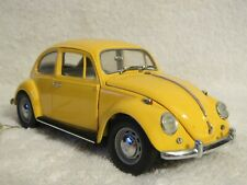 Precision Models 1967 Yellow Volkswagen Beetle Bug by Franklin Mint 1:24