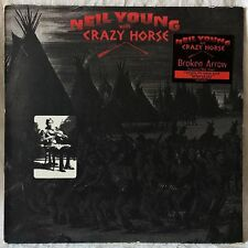 NEIL YOUNG WITH CRAZY HORSE BROKEN ARROW RARE 2LP 1st PRESSING