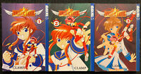 Angelic Layer 1, 2, 3 Manga Graphic Novel Tokyopop OOP Fantasy