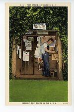 Grimshawes NC Smallest Post Office in US Rare Vintage Postal Curiosity SIGNS 40s