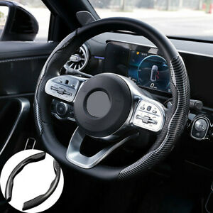 38CM Car Truck Steering Wheel Booster Cover Comfortable Non-Slip ABS Universal