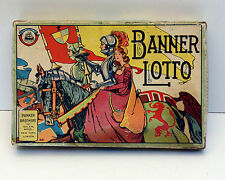 Vintage Parker Brothers Game banner lotto Bingo