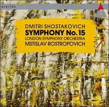 Shostakovich: Symphony No. 15 (CD, Dec-1991, Teldec (USA))