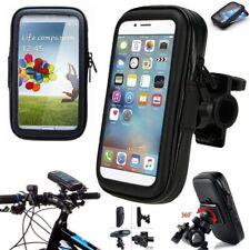 360° Bicycle Motor Bike Waterproof Phone Case Mount Holder For All Apple Phones