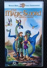 The Magic Sword: Quest For Camelot VHS Videotape Warner Animated Children's Film