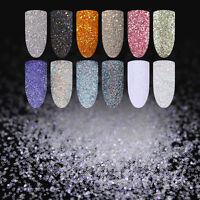 Nagel Glitzer Sequins Nail Art Holographisch Bunt Flocken Pailliette Born Pretty