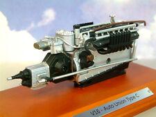 EXCELLENT ATLAS 1/18 AUTO UNION TYPE C V16 ENGINE FERDINAND PORSCHE 1936-1937