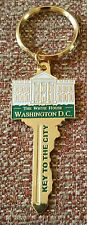 "THE WHITE HOUSE WASHINGTON D.C. ""KEY TO THE CITY"" Key Ring"