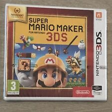 Brand New And Sealed - Nintendo Selects - Super Mario Maker Nintendo 3DS