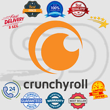 Crunchyroll Premium Subscription Account 📺 Anime - Drama - Manga 😲 Lifetime