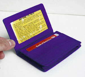 EEL SKIN LEATHER Bifold Wallet Credit Business Card Front Pocket Holder